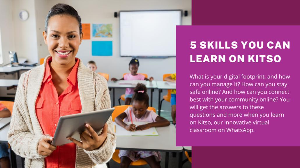 Teachers can Learn Digital Literacy Skills on Kitso